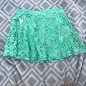 Mint Skater Skirt NWT.
